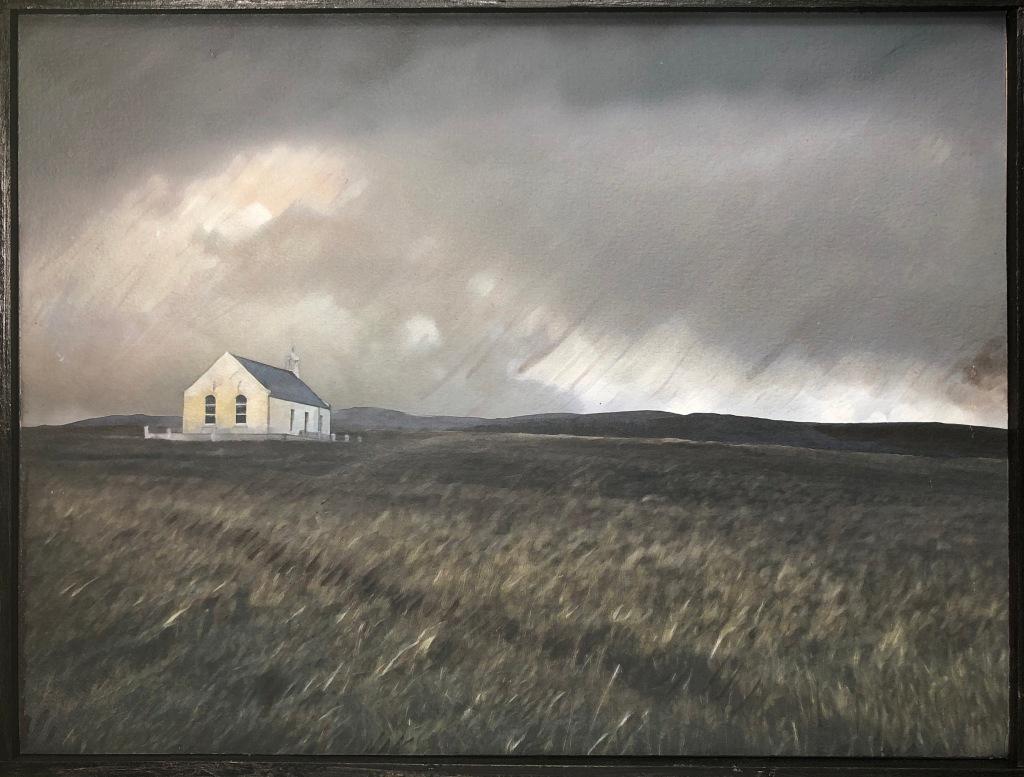 Shetland landscape North Roe