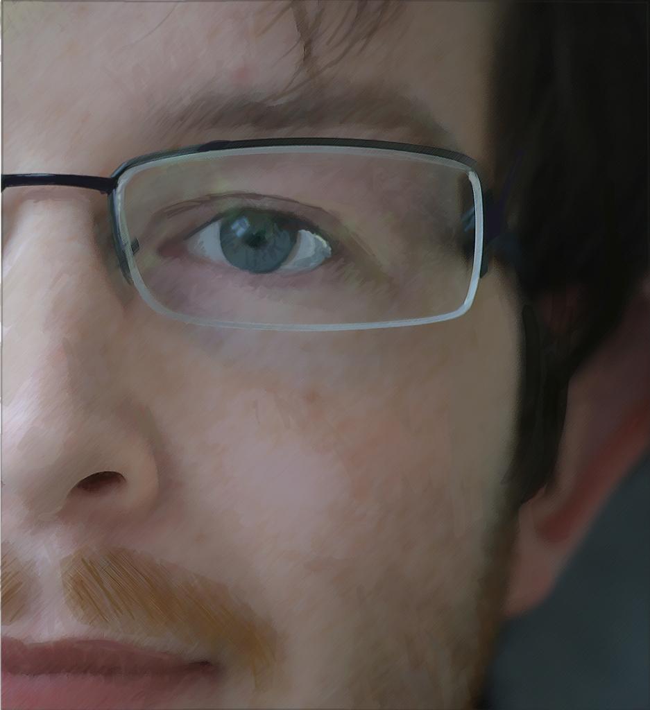 glasses eye